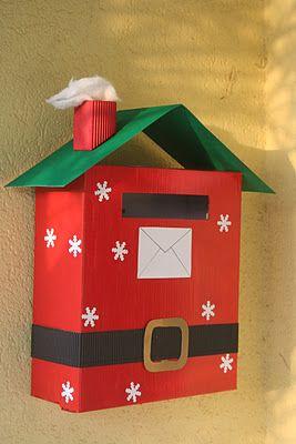 manualidades navideñas con carton