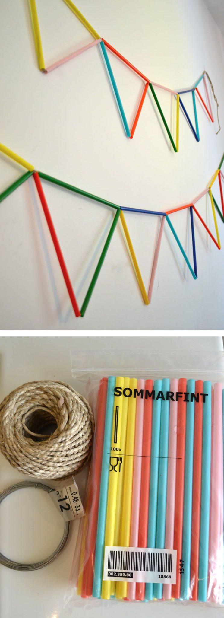 manualidades para decorar fiestas de cumpleaños muy faciles