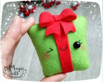 manualidades para el arbol de navidad con fieltro