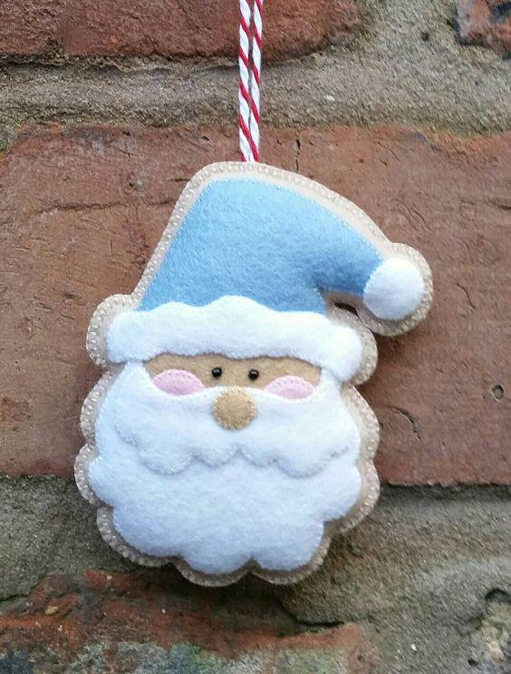 manualidades para niños de navidad con fieltro