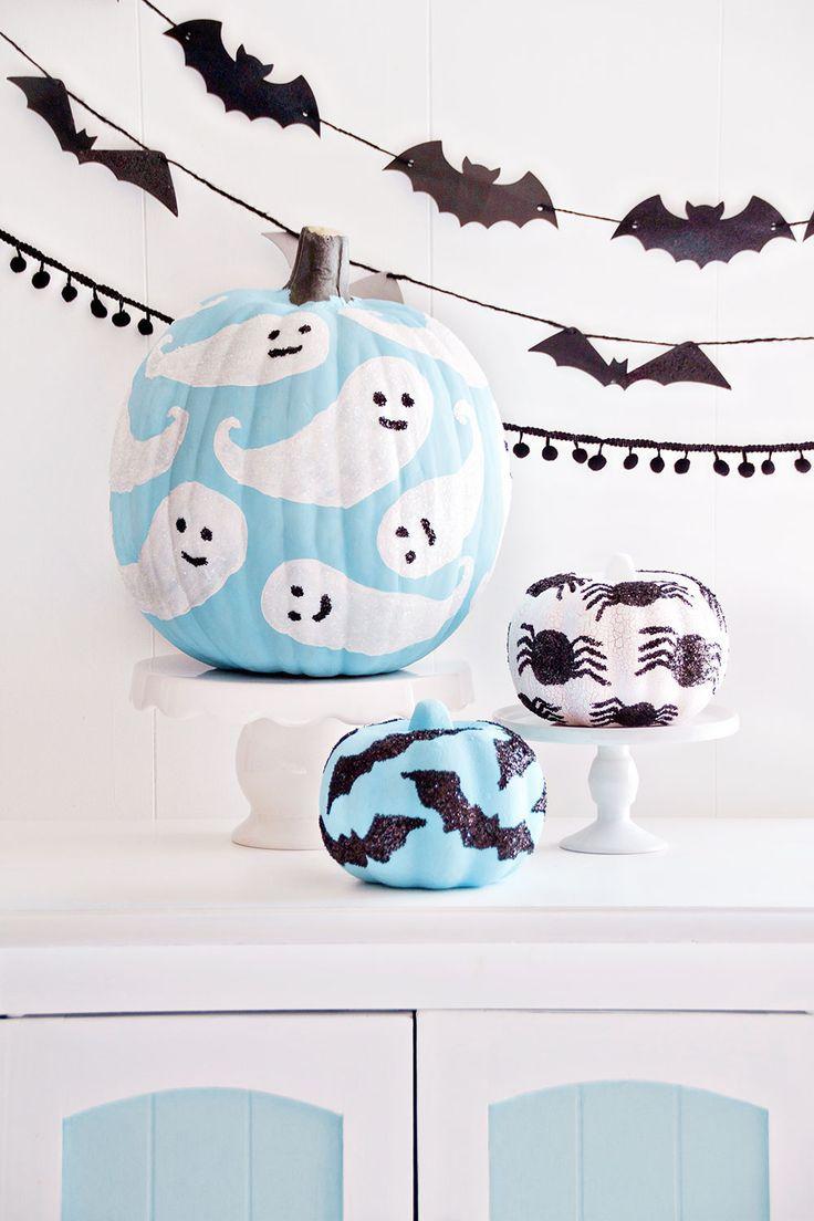 pintar calabazas para halloween