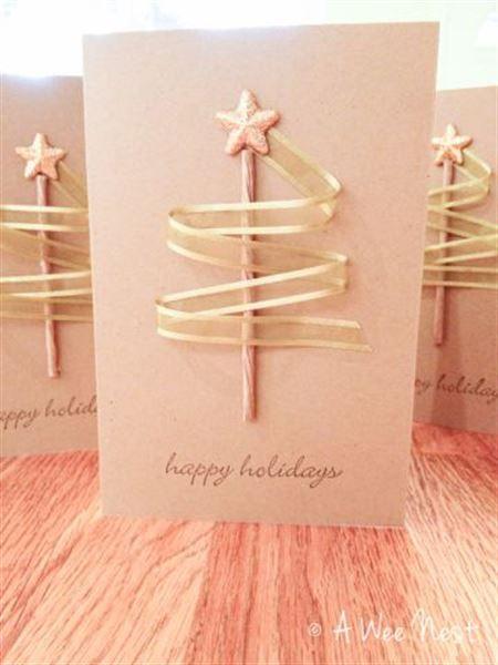 postal para regalar en navidad
