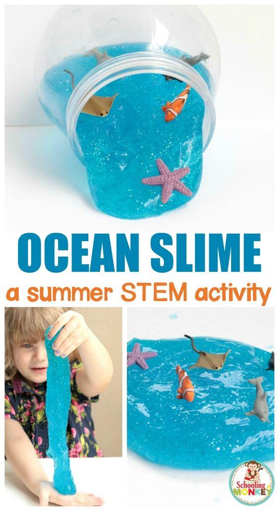 slime azul ocean
