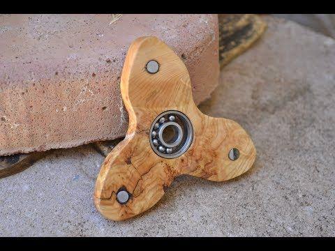 Cómo hacer un spinner de madera