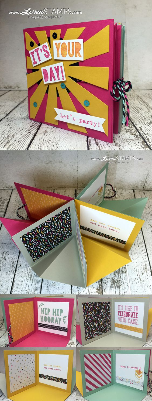 tarjetas de cumpleaños de scrap