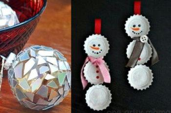 Manualidades de adornos de Navidad
