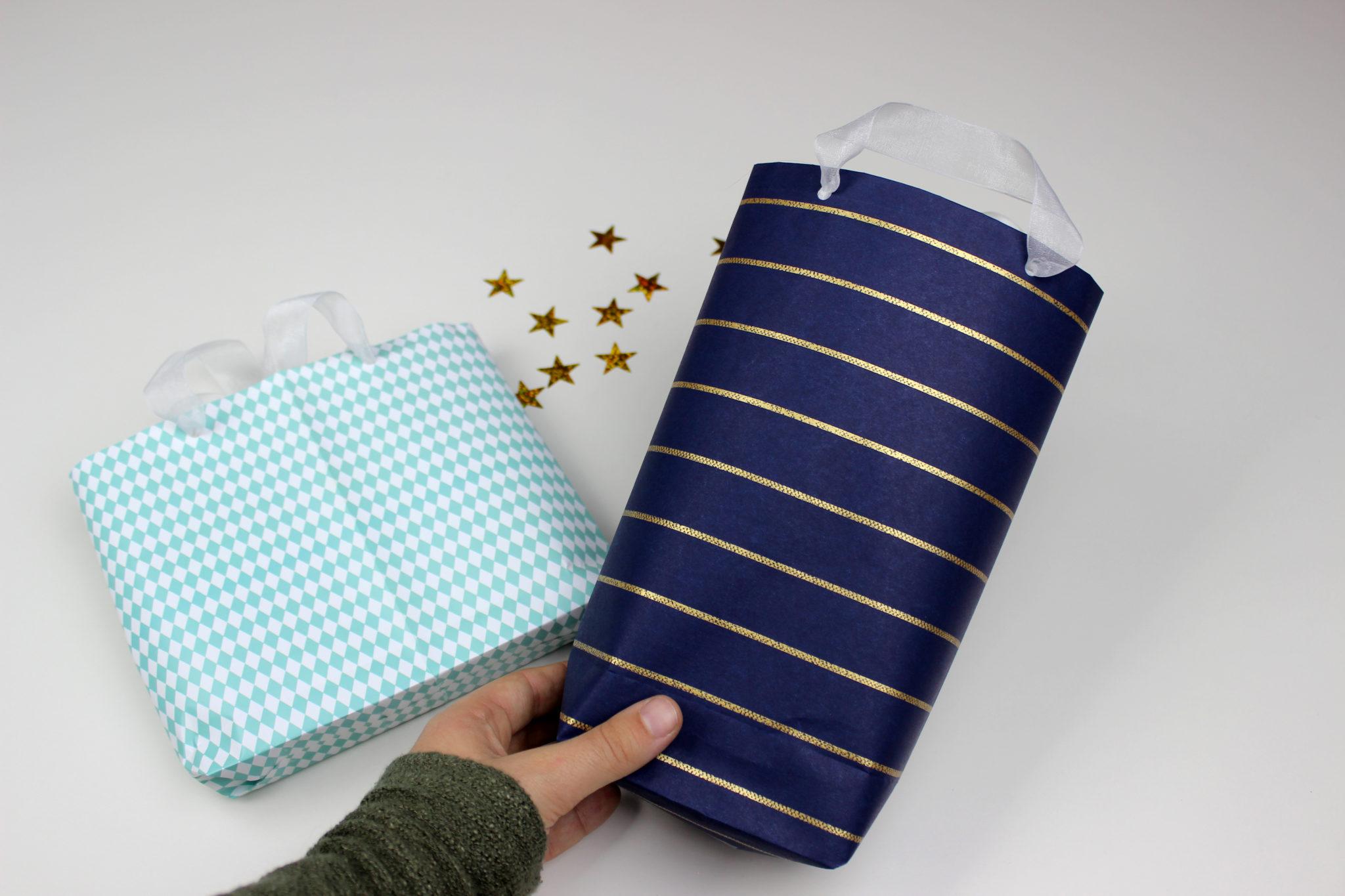 bolsas de navidad de papel