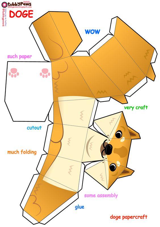 como hacer animales de kirigami