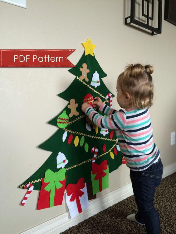 manualidades de navidad con goma eva para niños