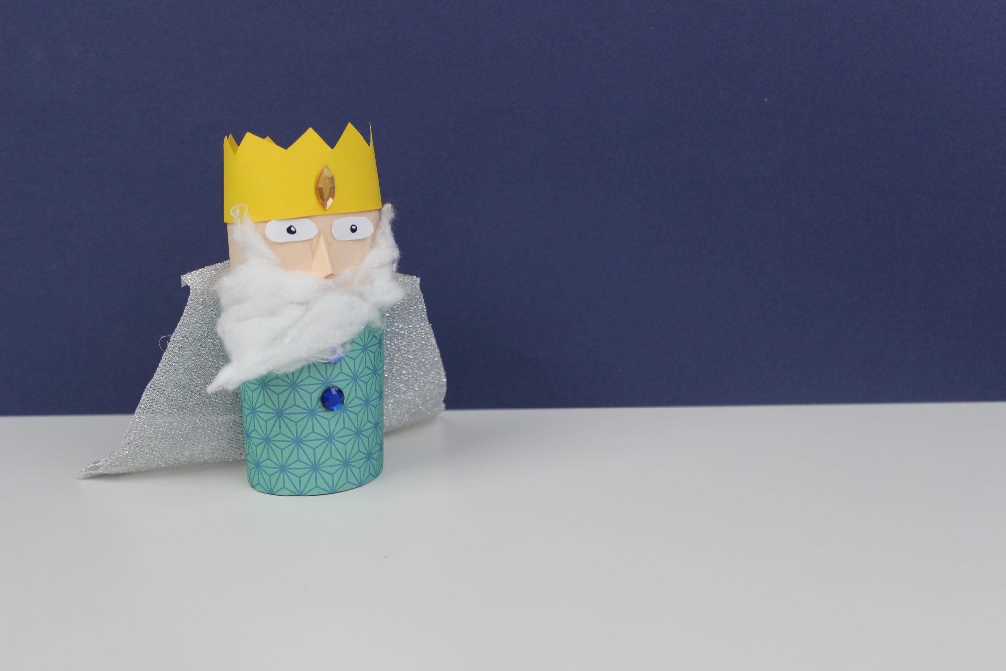 manualidades del rey melchor navideñas