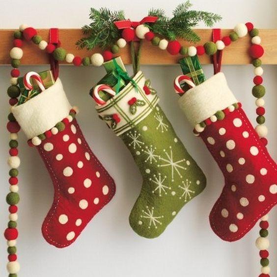 manualidades navideñas con fieltro y goma eva