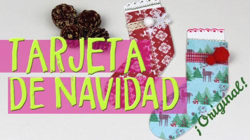 Como hacer postales de Navidad