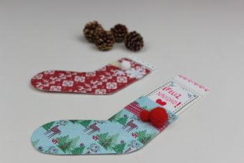 tarjetas navideñas hechas mano