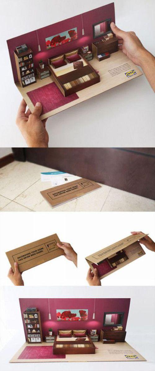 tarjetas popup con kirigami para pisos