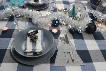 como hacer manualidades navideñas para la cena de navidad
