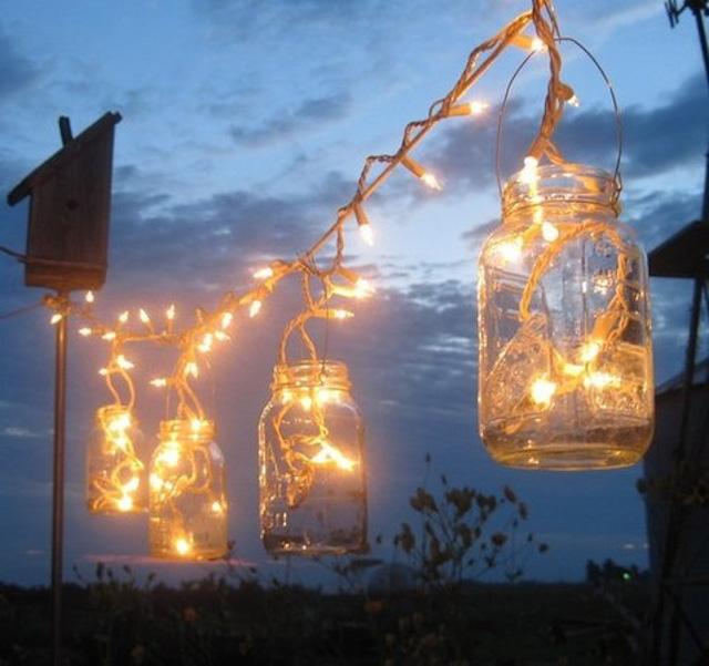 decoracion de balcones con guirnaldas de navidad