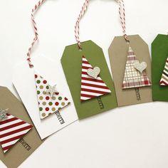 decoracion del arbol navidad con cartulina
