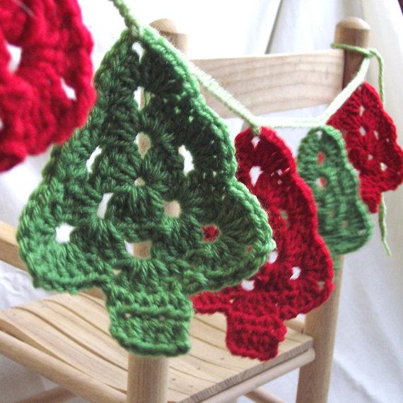 Decoraciones navideñas de manualidades con fieltro