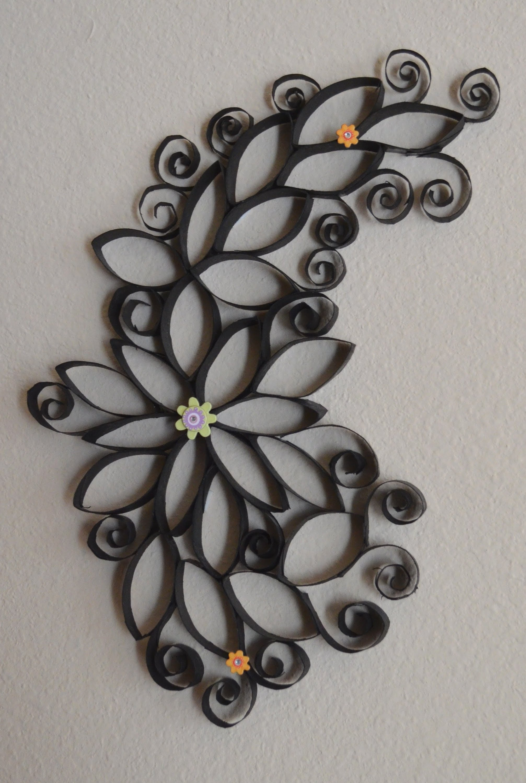 Decorar con #papelhigienico #flores para casa manualidades #diy