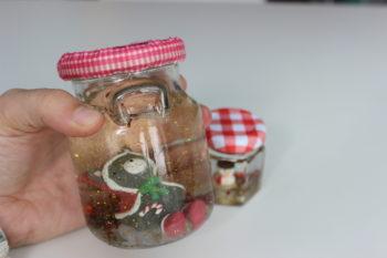 esferas navideñas recicladas