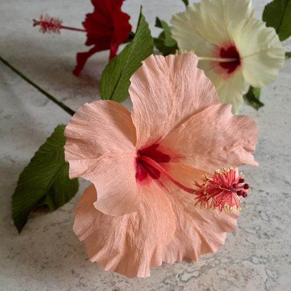Flores de papel crepe para bodas