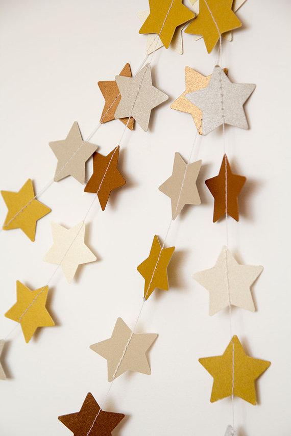 Guirnaldas de papel navideñas