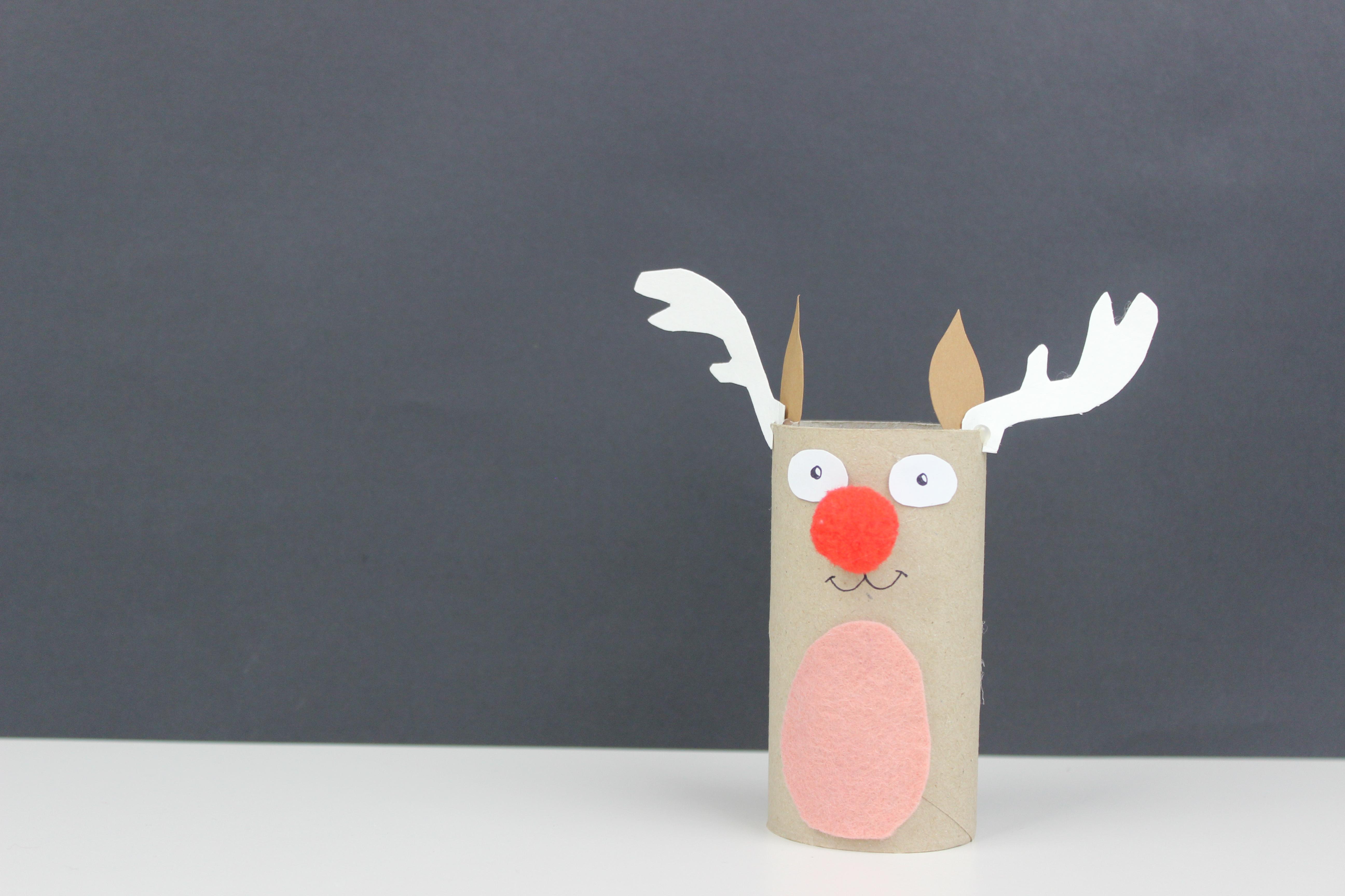 manualidades de renos navideños