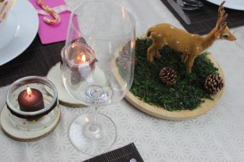 manualidades para hacer centros de mesa navideños