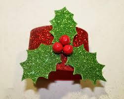servilleteros de navidad en goma eva