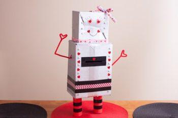 buzon de san valentin robot