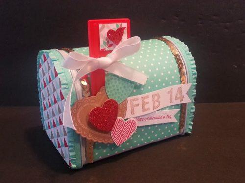 Buzón del día de San Valentín DIY