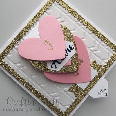 Carta cascada romántica para SV