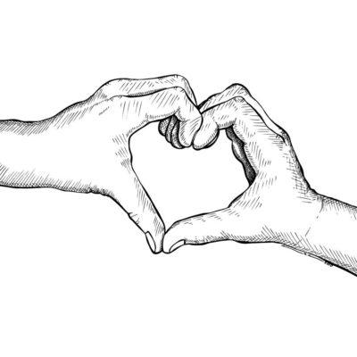 como dibujar corazones de san valentin