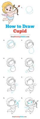 como dibujar cupido