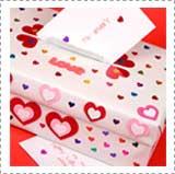 Decorar una caja como un buzón de San Valentín