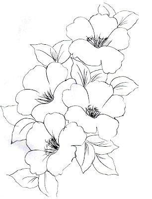 dibujar Flores faciles
