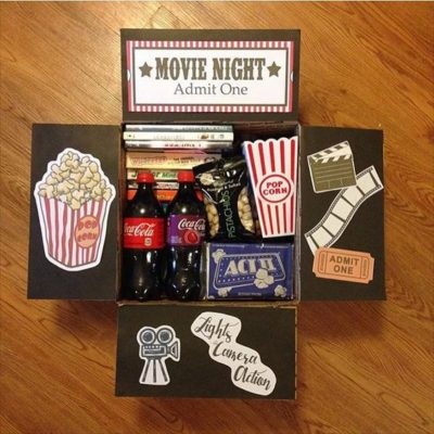 Kit noche de cine en casa
