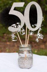 manualidades 50 cumpleaños
