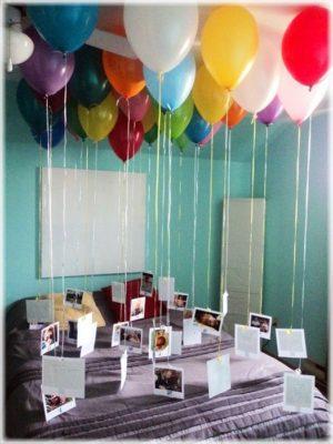 manualidades con globos para aniversarios