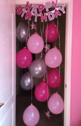 manualidades para cumpleaños adultos con globos