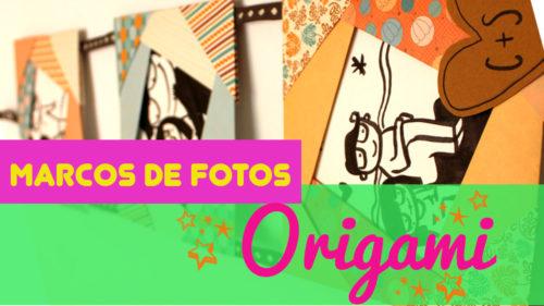 Marco de Fotos de Origami