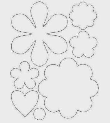 plantillas para flores