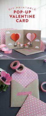 popup card de san valentin de lia griffith