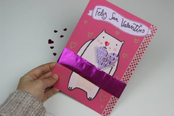 postal de amor de san valentin