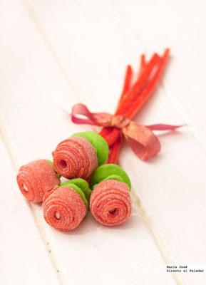 Ramo de flores dulces de Tuteate