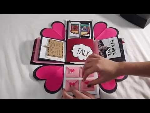 tarjeta explosiva para el dia de los enamorados