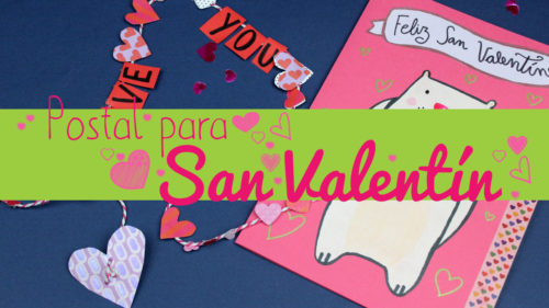 Tarjeta sorpresa de San Valentín