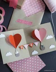 Tarjetas pop up de San Valentín de www.google.com.ar