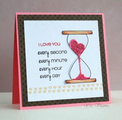 Idea original de Scrap para San Valentin de Paraenamorar.com