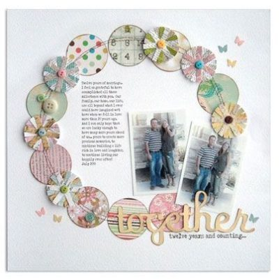 Ideas creativas para tarjetas de amistad de Craftingbysue.